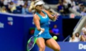 Coco Vandeweghe was this evening involved in her second Grand Slam semi-final of the year