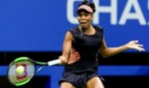 Venus Williams was attempting to take her place in a third Grand Slam final of 2017
