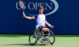 Alfie Hewett has had quite an introduction to life at the fourth Grand Slam of the year
