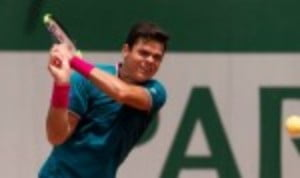 Milos Raonic has suffered yet another injury blow at the Japan Open in Tokyo