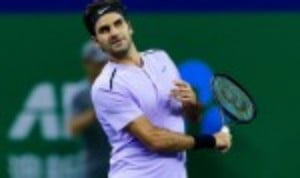 Roger Federer began his bid to win a seventh World Tour Finals crown by easing to a 6-4 7-6(4) success over Jack Sock in the Boris Becker Group