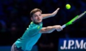 ItŠ—Ès been a week of mixed-emotions for David Goffin at the Nitto ATP Tour Finals in London