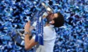 Grigor Dimitrov toasted his ascend to world No.3 by capturing the biggest title of his nine-year career
