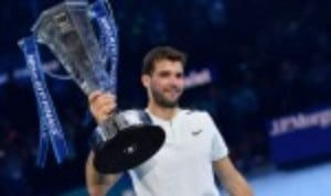 Grigor Dimitrov may be about to embark on a well-earned holiday after the most successful season of his career