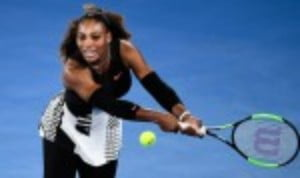 Serena Williams made a welcome return to match action in an exhibition match against Jelena Ostapenko in Abu Dhabi