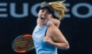 Elina Svitolina scored a significant victory by defeating defending champion Karolina Pliskova 7-5 7-5 and reaching the final of the Brisbane International