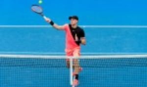 Kyle Edmund appears to be revelling in the responsibility of flying the British flag in the men's draw at the Australian Open
