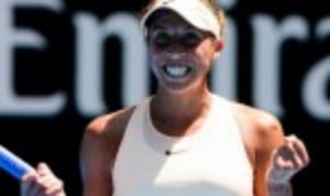 Madison Keys continues to bulldoze her way through the Australian Open draw
