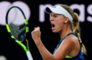 Caroline Wozniacki is relieved that she has put an end to the often asked question if it is appropriate to be World No 1 without having won a major event