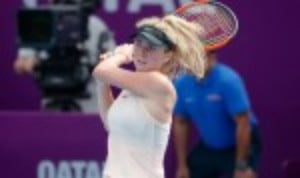 Elina Svitolina has successfully defended a WTA title for the second time in her career