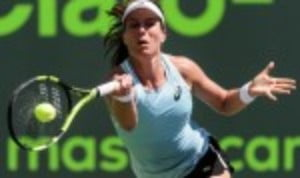 Johanna Konta cruised into the last sixteen of the Miami Open with a thumping 6-2 6-1 victory over Elise Mertens in just 65 minutes