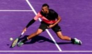 Nick Kyrgios continues to make serene progress through the Miami Open draw