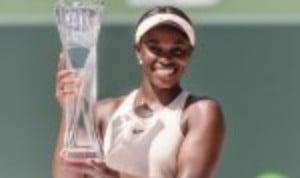 Sloane StephensŠ—È post-US Open slump has become a distant memory after she became the 2018 Miami Open womenŠ—Ès singles champion