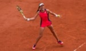 Johanna Konta commenced her Mutua Madrid Open campaign with a morale-boosting 6-3 7-5 victory over Magdalena Rybarikova