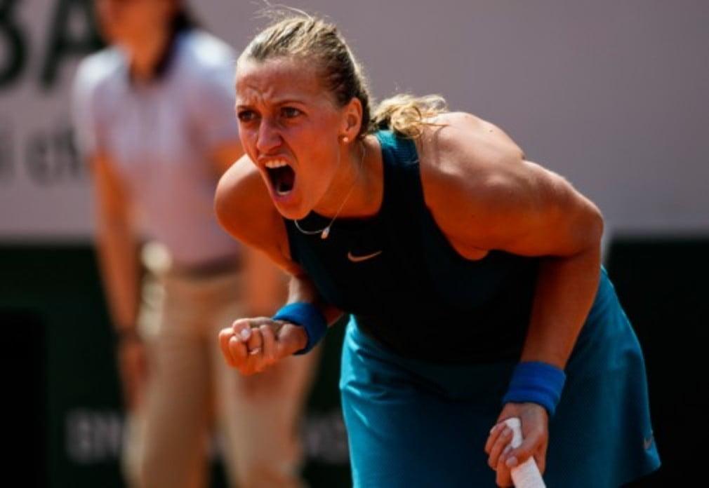 Petra Kvitova took just over two hours to defeat ParaguayŠ—Ès Veronica Cepede Royg