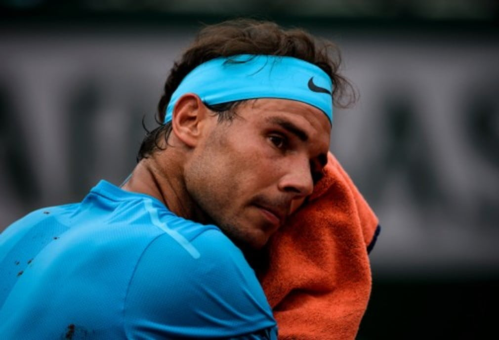 Rafa Nadal returned to Roland Garros on Tuesday to complete the first-round match against Italian Simone Bolelli