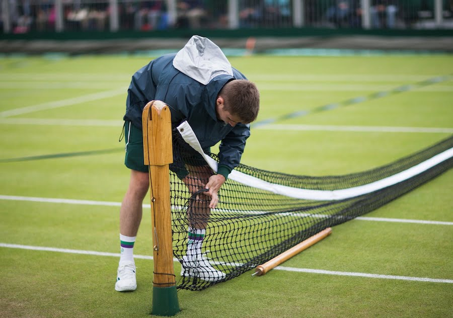 Behind the scenes at Wimbledon SW19