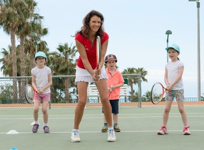 Annabel Croft kids coaching
