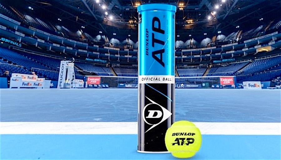Dunlop tennis ATP ball