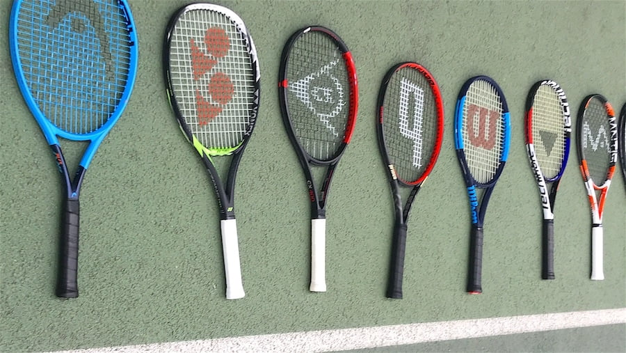 Tennis racket specifications explained