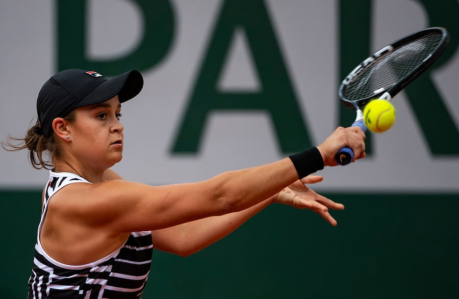 Ashleigh Barty backhand