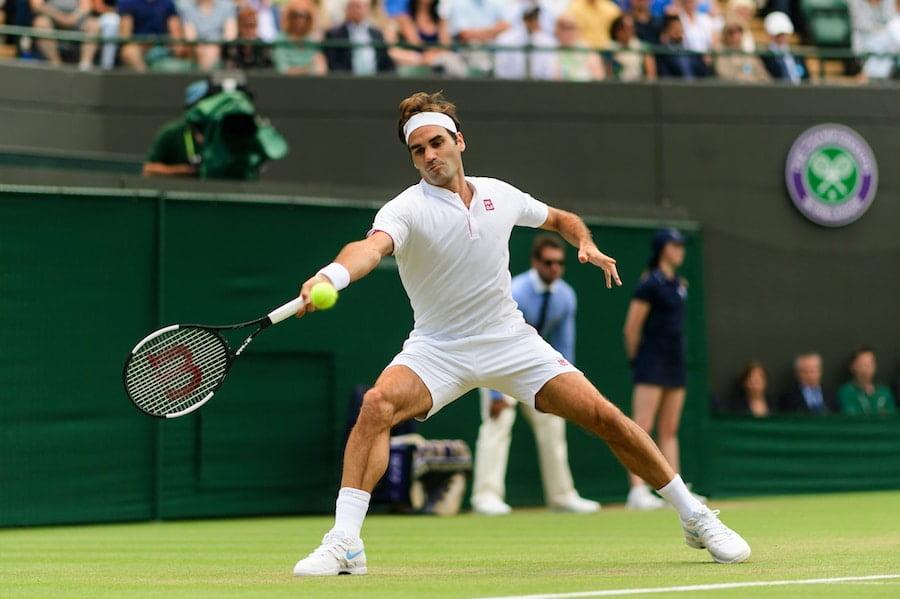 Roger Federer Wimbledon 2018