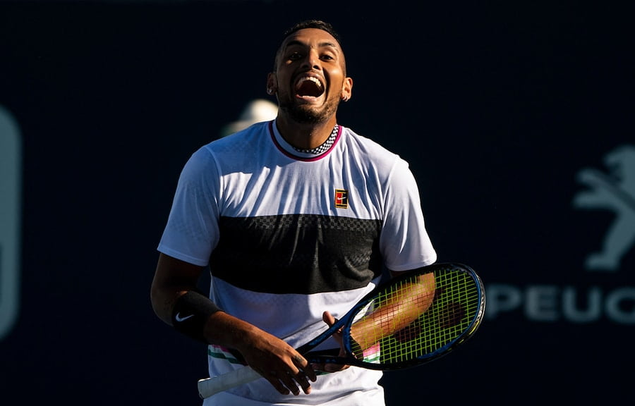 Nick Kyrgios at the Miami Open