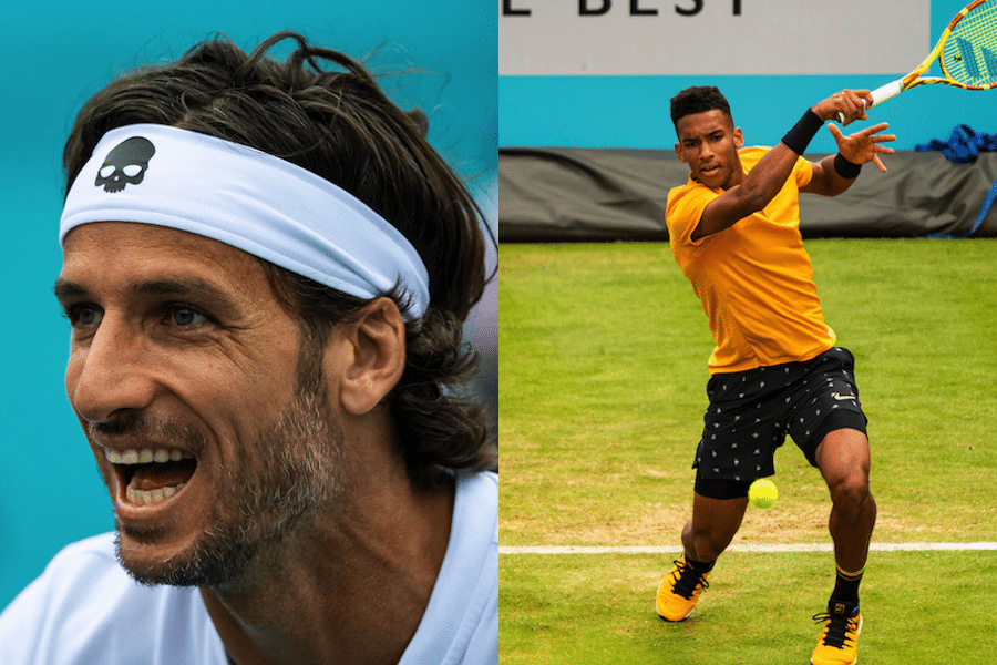 Auger-Aliassime and Lopez break records at Wimbledon