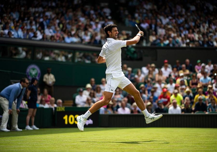 Novak Djokovic Wimbledon 2019