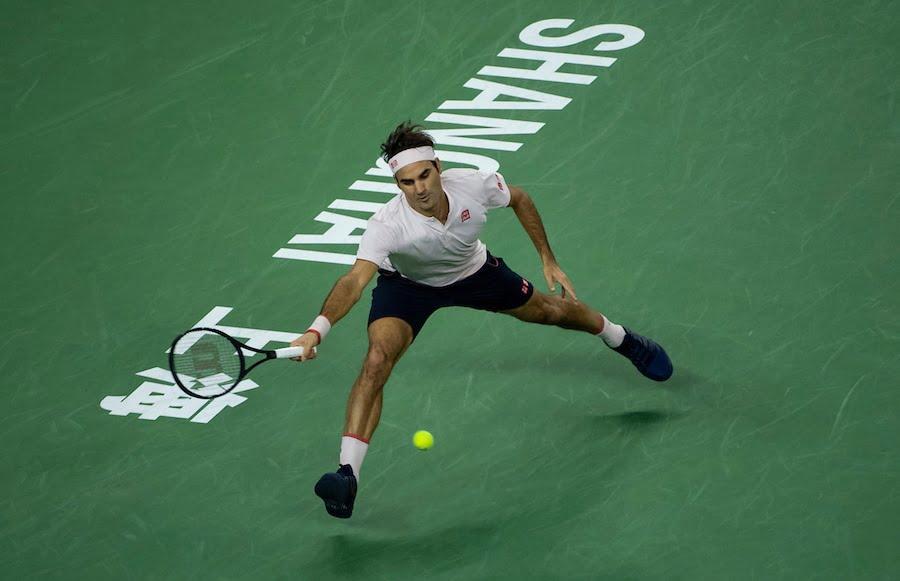 Roger Federer Shanghai 2018
