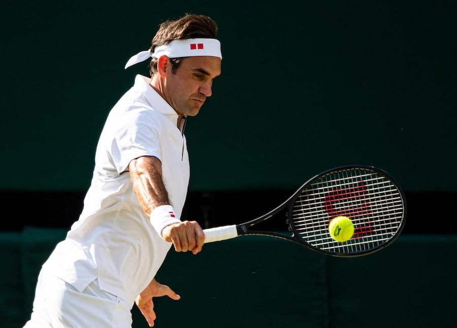 Roger Federer racket