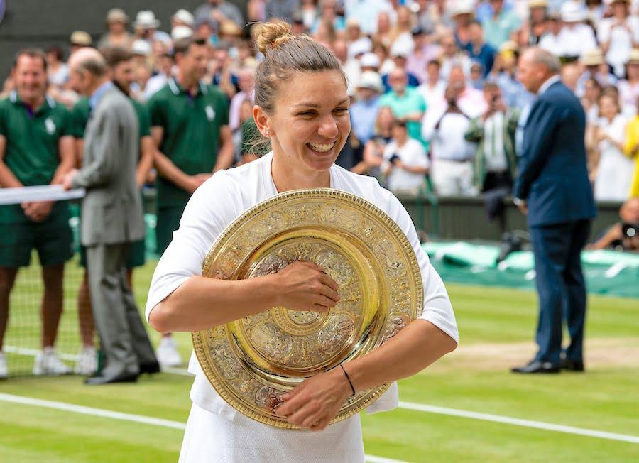 Simona Help Wimbledon Ladies singles champion 2019