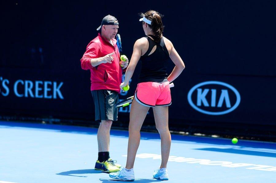 Konta tennis coach