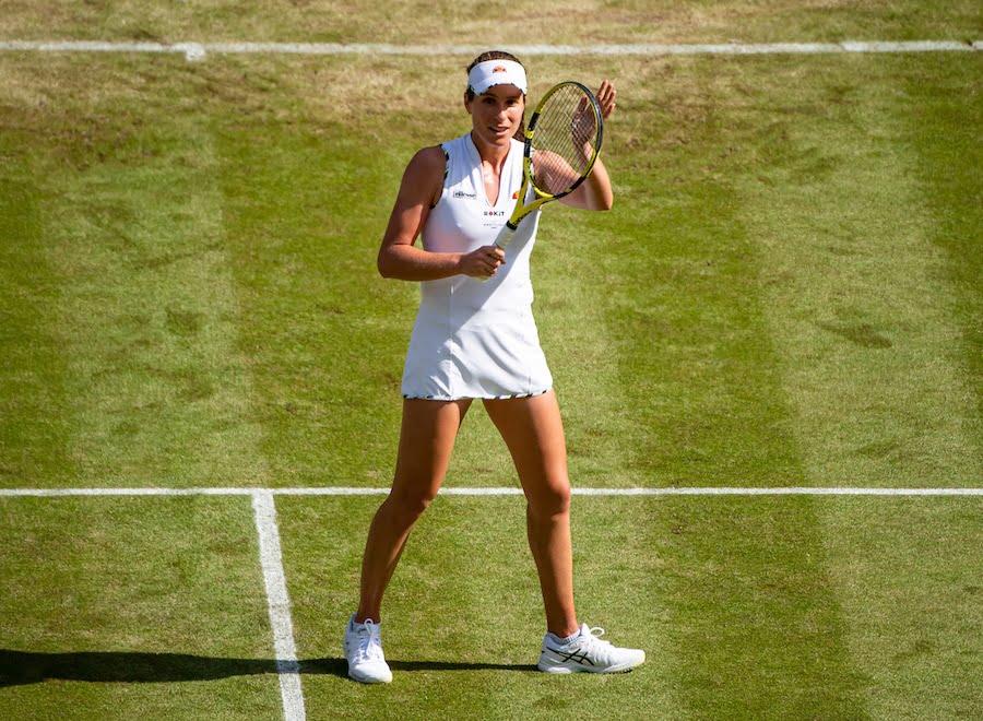 Jo Konta Wimbledon 2019