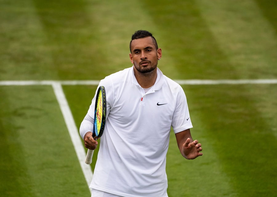 Nick Kyrgios to play doubles with Tsitsipas