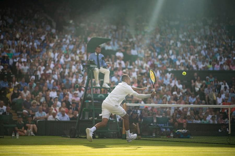Kyrgios plays Nadal Wimbledon 2019