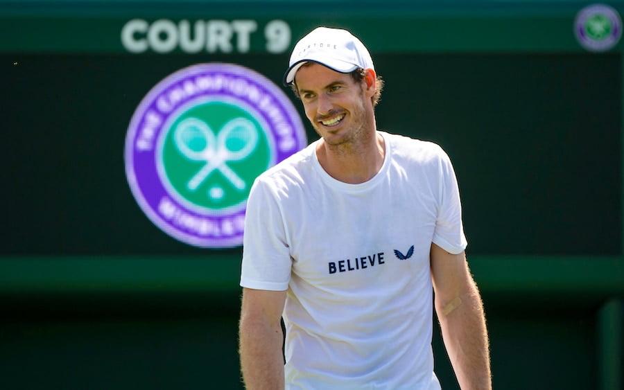 Andy Murray Castore Wimbledon 2019