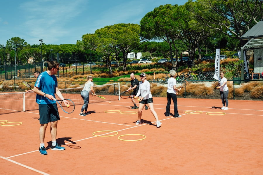 Fit for tennis The Campus Portugal