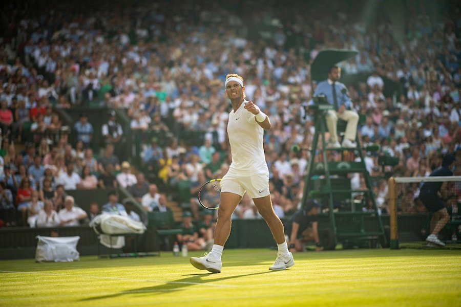 Rafa Nadal Kyrgios Wimbledon 2019