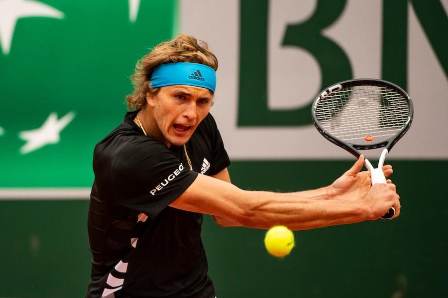 Alexander Zverev Roland Garros 2019