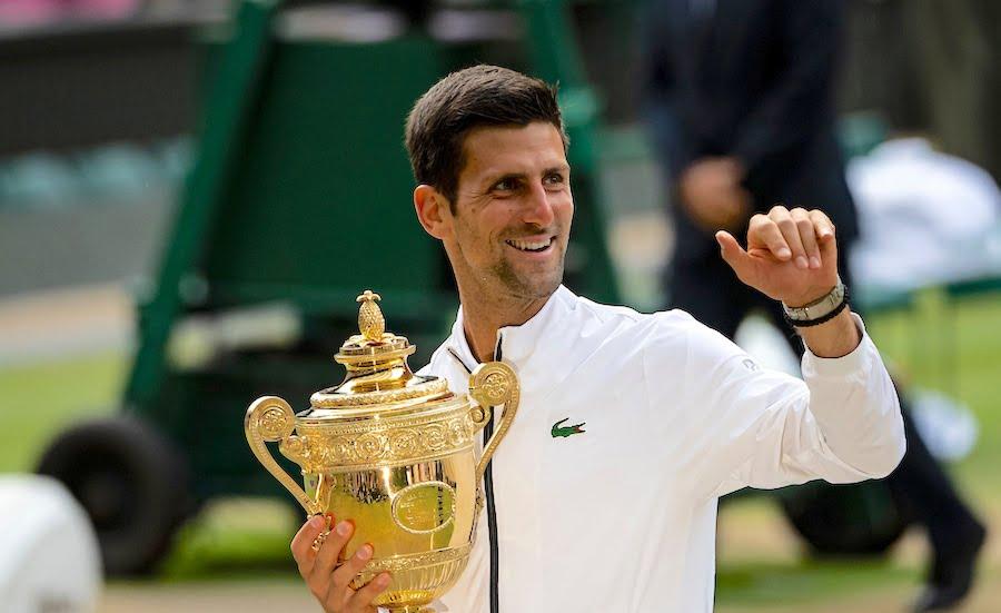Novak Djokovic wins Wimbledon 2019