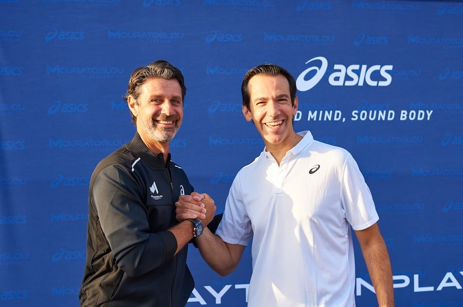 Mouratoglou signs partnership with ASICS