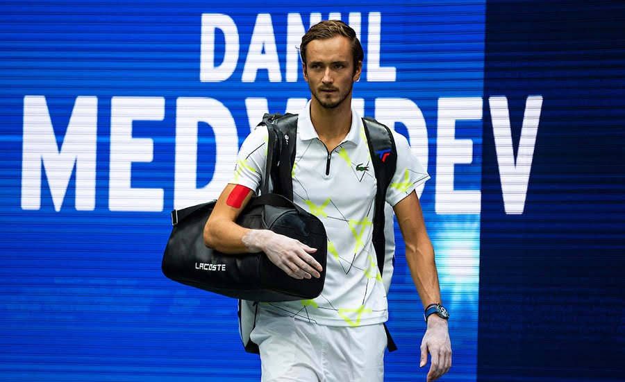 Daniil medvedev walkout US Open