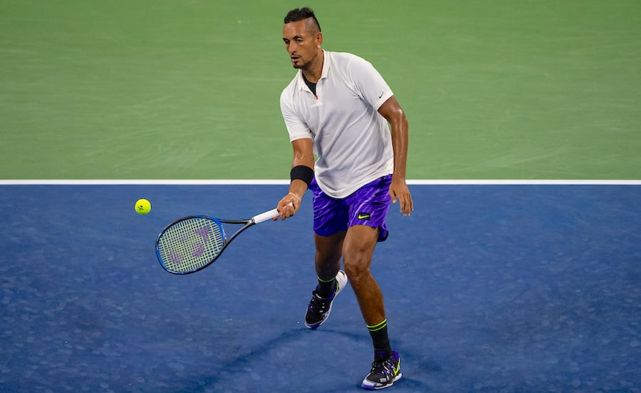 Nick Kyrgios underarm serve US Open 2019