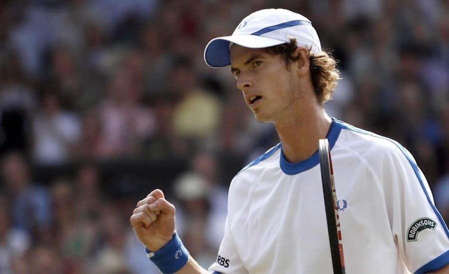 Andy Murray defeats Andy Roddick Wimbledon 2006