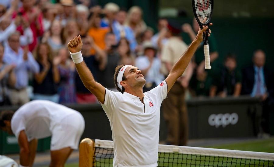 Federer Wimbledon 2020