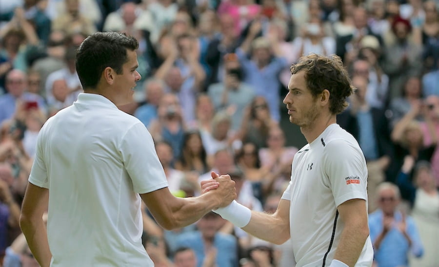 Milos Raonic Wimbledon 2016