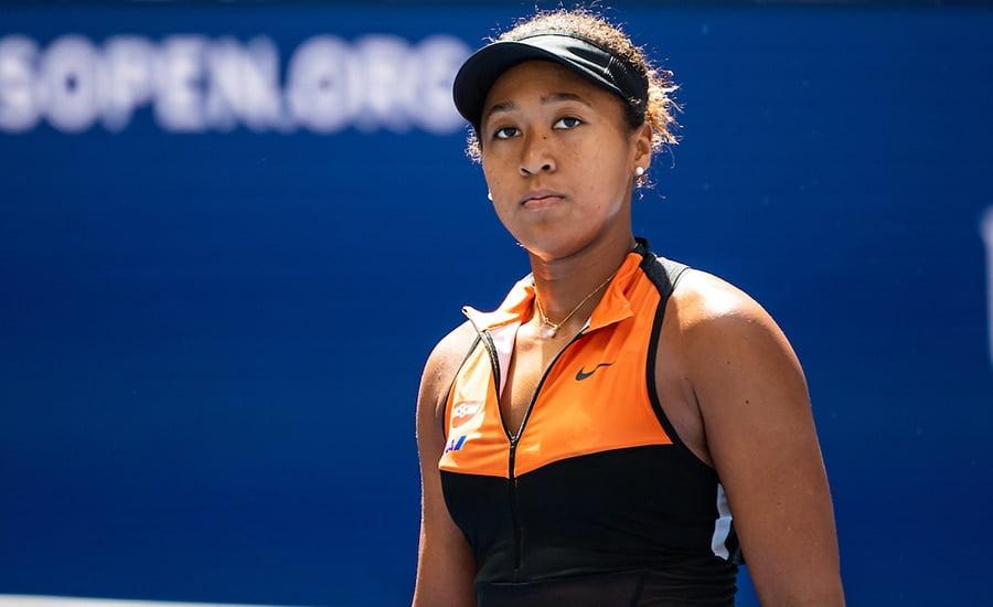 Naomi Osaka at the US Open