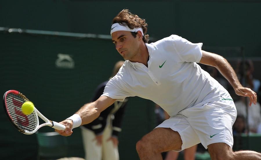 Roger Federer Wimbledon 2012