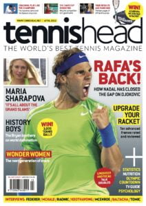 tennishead 2012 issue 1 cover